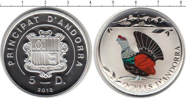 Каталог монет - Андорра 5 динерс