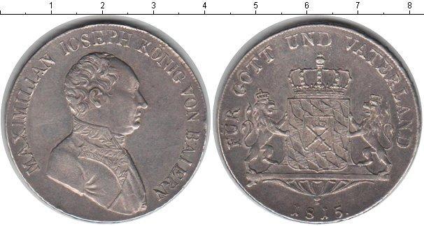 Каталог монет - Бавария 1 талер