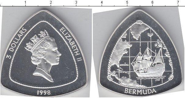 Каталог монет - Бермудские острова 3 доллара