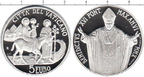 Каталог монет - Ватикан 5 евро