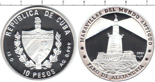 Каталог монет - Куба 10 песо