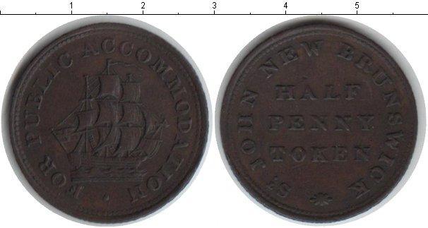 Каталог монет - Нью-Брансуик 1/2 пенни