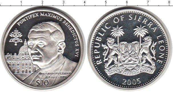Каталог монет - Сьерра-Леоне 10 долларов