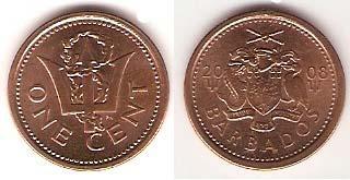 Каталог монет - Барбадос 1 цент