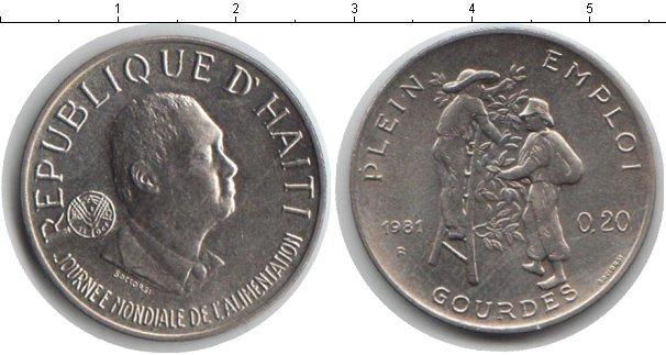 Каталог монет - Гаити 20 сантим