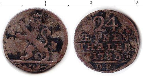 Каталог монет - Гессен-Кассель 1/24 талера