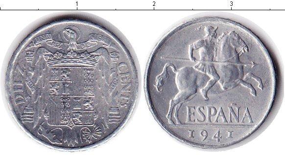 Каталог монет - Испания 10 сентим
