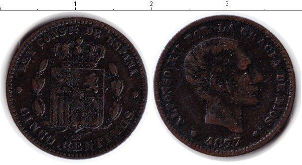 Каталог монет - Испания 5 сентаво
