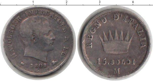 Каталог монет - Италия 15 сольди