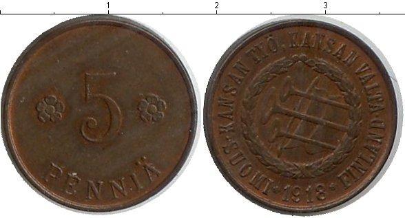 Каталог монет - Финляндия 5 пенни