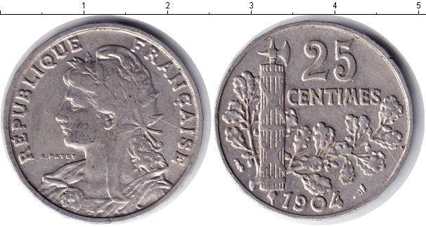 Каталог монет - Франция 25 сентим
