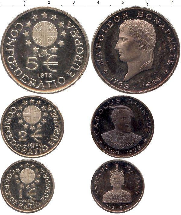 Каталог монет - Европа Европрототип 1972