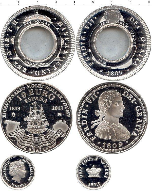 Каталог монет - Испания Пруф-сет 2013