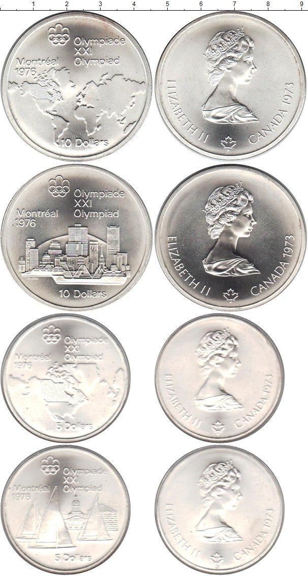 Каталог монет - Канада Олимпийские игры в Монреале 1976
