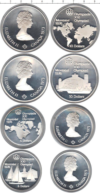 Каталог монет - Канада Олимпийские игры 76