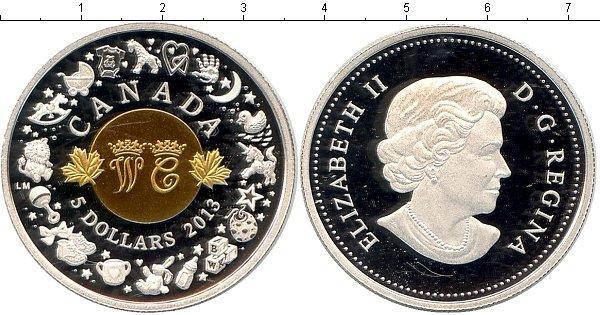 Каталог монет - Канада Рождение королевского младенца