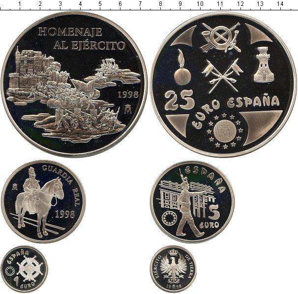 Каталог монет - Испания Вооруженные силы Испании