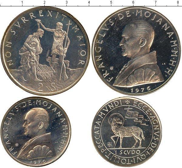Каталог монет - Мальтийский орден Выпуск 1976 года