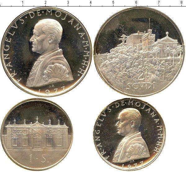 Каталог монет - Мальтийский орден Выпуск 1977 года