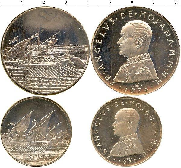 Каталог монет - Мальтийский орден Выпуск 1978 года