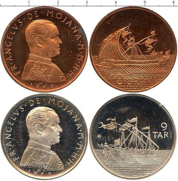 Каталог монет - Мальтийский орден Выпуск 1979 года
