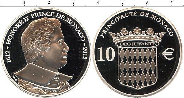 Каталог монет - Монако Принц Оноре