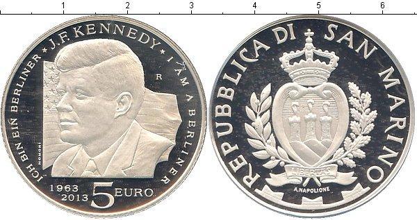 Каталог монет - Сан-Марино Дж, Кеннеди