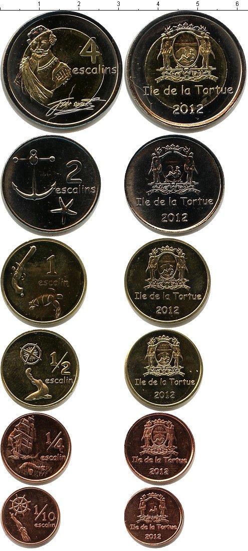 Каталог монет - Гаити Остров Тортуга 2012