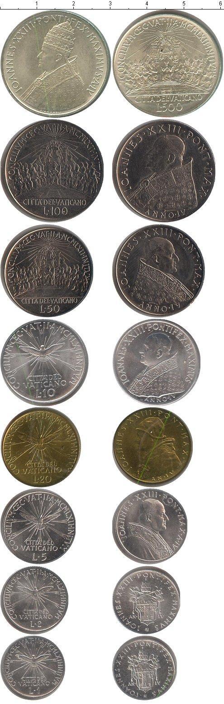 Каталог монет - Ватикан Ватикан 1962