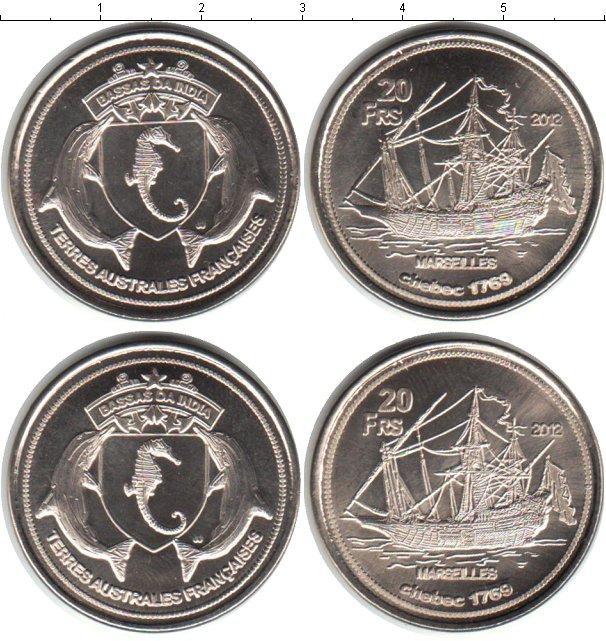 Каталог монет - Бассас-да-Индия Бассас-да-Индия 2012