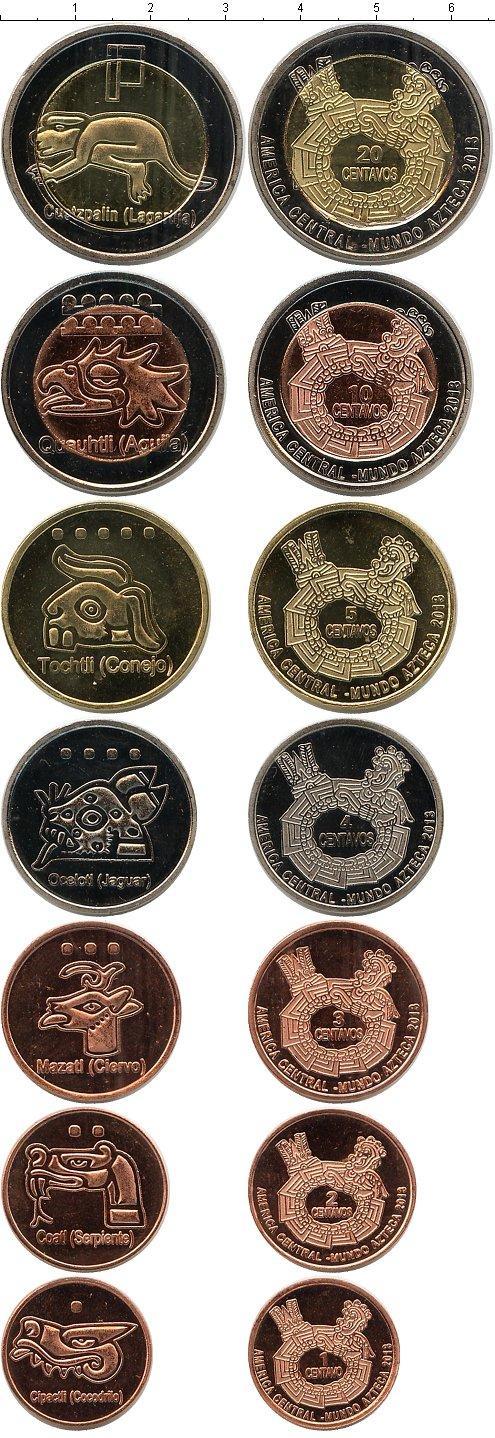Каталог монет - Центральная Америка Центральная Америка, Ацтеки 2013