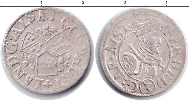 Каталог монет - Австрия 3 крейцера