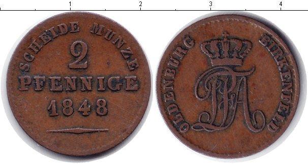 Каталог монет - Биркенфельд 2 пфеннига