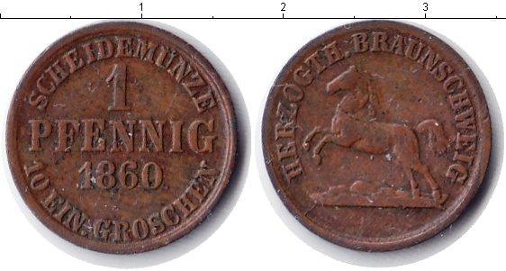Каталог монет - Брауншвайг-Вольфенбюттель 1 пфенниг