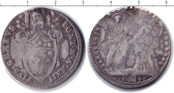 Каталог монет - Ватикан 1/2 скудо