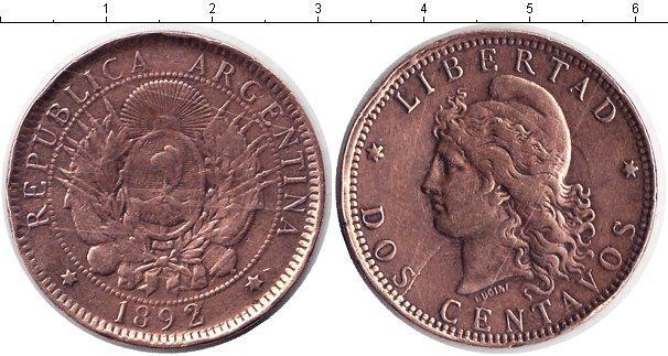 Каталог монет - Аргентина 2 сентаво