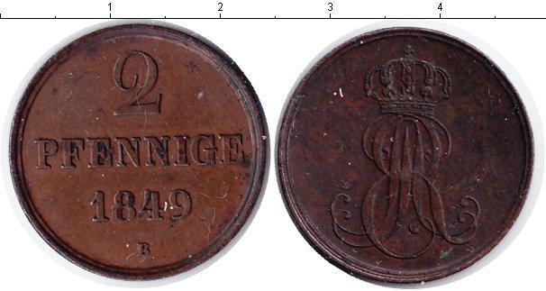 Каталог монет - Ганновер 2 пфеннига