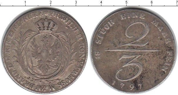 Каталог монет - Пруссия 2/3 талера