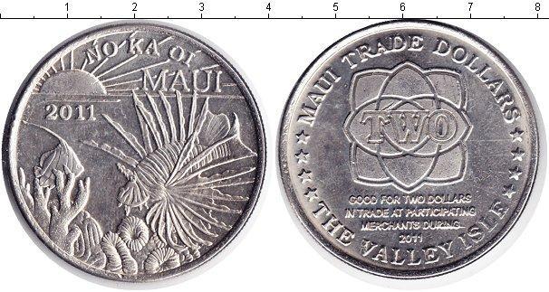 Каталог монет - Гавайские острова 1 доллар