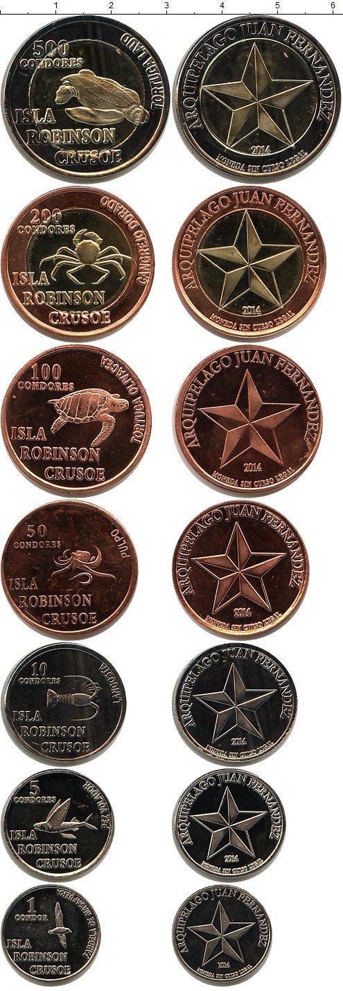 Каталог монет - Остров Робинзона Крузо Остров Робинзона Крузо 2014