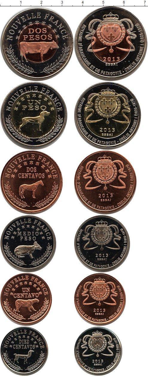 Каталог монет - Франция Патагония 2013