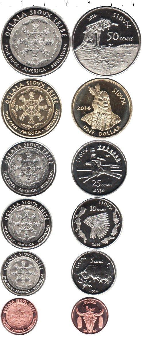 Каталог монет - Пайн-Ридж Пайн-Ридж 2014