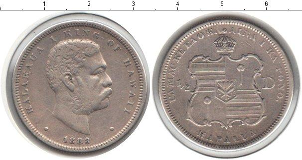 Каталог монет - Гавайские острова 1/2 доллара