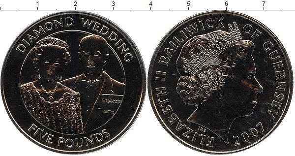 Каталог монет - Гернси Бриллиантовый юбилей бракосочетания