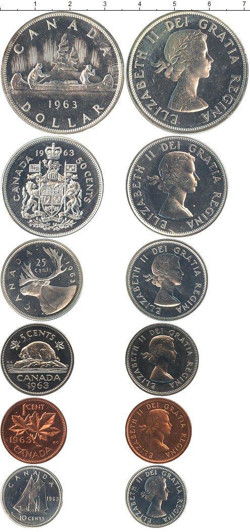 Каталог монет - Канада Канада 1963