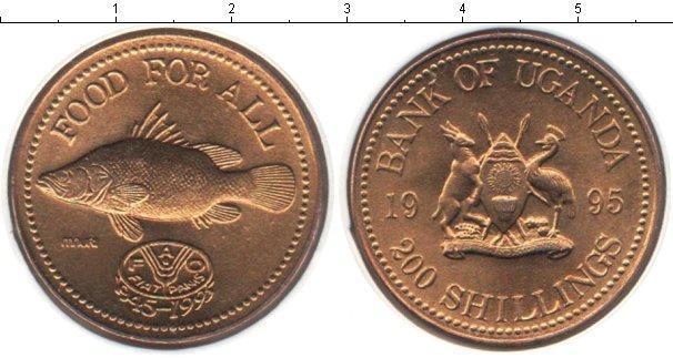 Каталог монет - Уганда 200 шиллингов