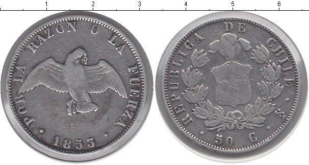 Каталог монет - Чили 50 сентаво