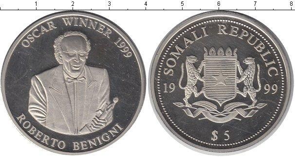 Каталог монет - Сомали 5 долларов