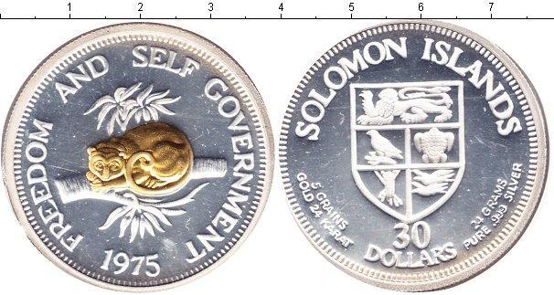 Каталог монет - Соломоновы острова 30 долларов