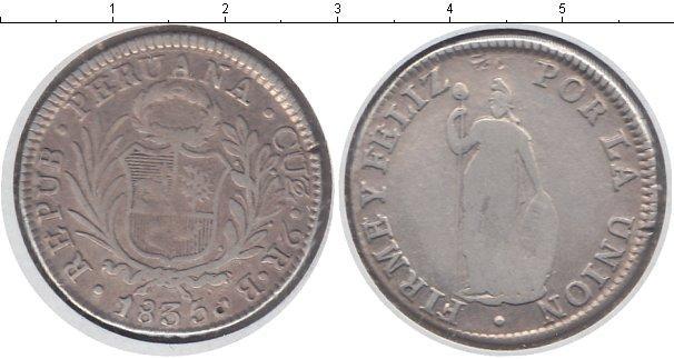 Каталог монет - Перу 2 реала